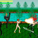 近接格闘以外に銃器も使用!続々迫りくる敵をすべて倒せ!