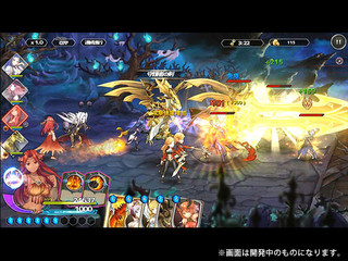 SUMMON GIRLS CRUSADE Rのゲーム画面「」